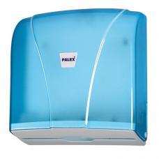 Palex Z Katlama Havlu Dispenseri Şeffaf Mavi 3464