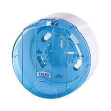 Palex İçten Çekmeli Tuvalet Kağıdı Dispenseri Şeffaf Mavi 3440