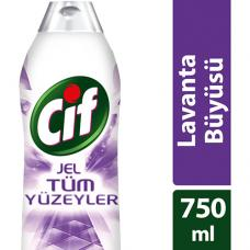 Cif Tüm Yüzeyler Jel Lavanta Büyüsü 750 ml
