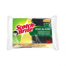 Scotch Brite Oluklu Bulaşık Süngeri 2 Adet