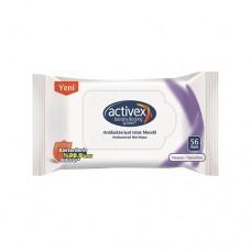 Activex Hassas Koruma Antibakteriyel Islak Mendil 56 Adet