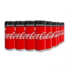 Coca Cola Şekersiz 200 ml 24 adet