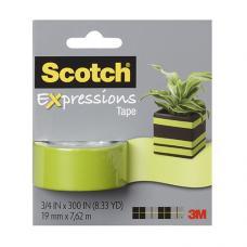 3M Scotch Renkli Bant Yeşil 19mm x 7,62 m
