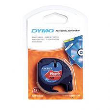 Dymo LetraTag Plastik Şerit 12 mm x 4 mt Kırmızı (59424)