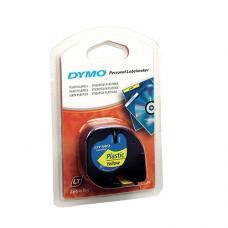 Dymo LetraTag Plastik Şerit 12 mm x 4 mt Sarı  (59423)