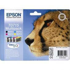 Epson C13T07154020 Kartuş  4 lü Set (T0715)