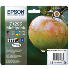 Epson C13T129540 Kartuş 4 lü Set Renkli (T1295)