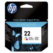HP 22 C9352AE Kartuş Renkli 5 ml