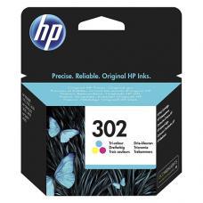 HP 302  F6U65AE Kartuş 165 Sayfa Renkli