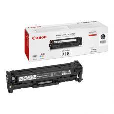 Canon 718BK Laser Toner Siyah 3.400 Sayfa