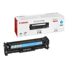 Canon 718C Laser Toner 2.900 Sayfa Mavi