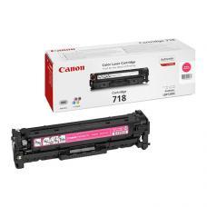 Canon 718M Laser Toner 2.900 Sayfa Kırmızı