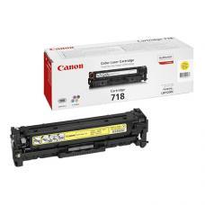 Canon 718Y Laser Toner  2.900 Sayfa Sarı