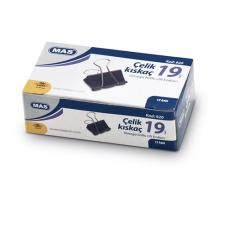 Mas 920 Omega Çelik Kıskaç Siyah 19 mm 12'li