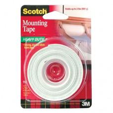 3M Scotch 110 Çift Taraflı Köpük Bant 12.7 mm x 1.9 mt