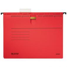 Leitz Askılı Dosya Telli L-1984 Kırmızı 25 li