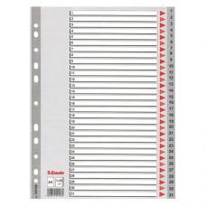 Esselte Seperatör A4 1-31 Rakam 100108