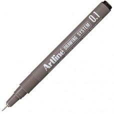 Artline 231 Teknik Çizim Kalemi 0.1 mm Siyah 12 Adet