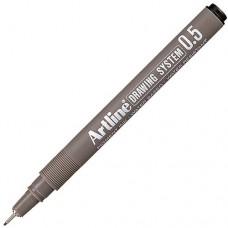 Artline 235 Teknik Çizim Kalemi 0.5 mm Siyah 12 Adet
