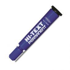 Hi-Text 830 PC Permanent Kesik Uçlu Koli Kalemi Mavi