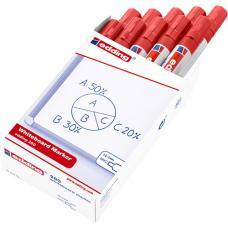 Edding 260 Beyaz Tahta Kalemi Kırmızı 10 lu