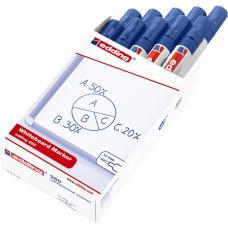 Edding 260 Beyaz Tahta Kalemi Mavi 10 lu