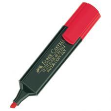 Faber Castell 1548 Fosforlu Kalem Kırmızı