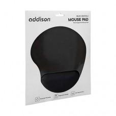Addison Bilek Destekli Mouse Pad Siyah