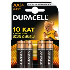 Duracell AA Kalem Pil  4 Adet