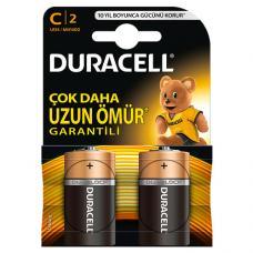 Duracell C Orta Boy Pil 2 Adet