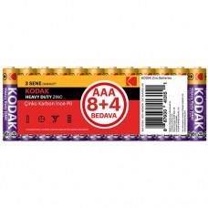 Kodak AAA Çinko Karbon İnce Kalem Pil 12 Adet