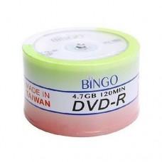 Bingo Dvd-R 4.7 Gb 16 X Cakebox 50 Adet